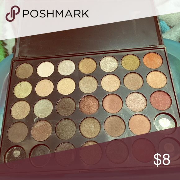 Morphe 350S Morphe 350S All Shimmer Eyeshadow Palette ; Received AS IS (shown in the picture) Never been swatched or used . Missing 4 shades but other than that is still in good condition Makeup Eyeshadow