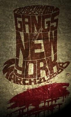 """Gangs of New York"" poster"
