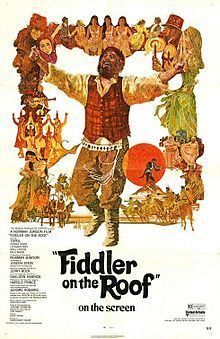 Fiddler on the Roof (1971).  Topol.  Norma Crane.  Michael Glaser.  Musical.  One of the best movie musicals of all time. Stunning photography and soundtrack.