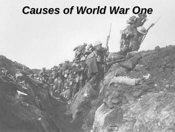 What was the most significant cause of World War One? (WW1)