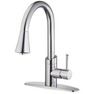 Pull down faucet for the kitchen
