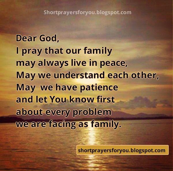 Short Religious Quotes About Family: Http://shortprayersforyou.blogspot.com/2014/09/short