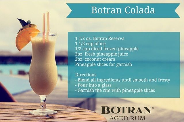 The Night Begins with Botran Rum