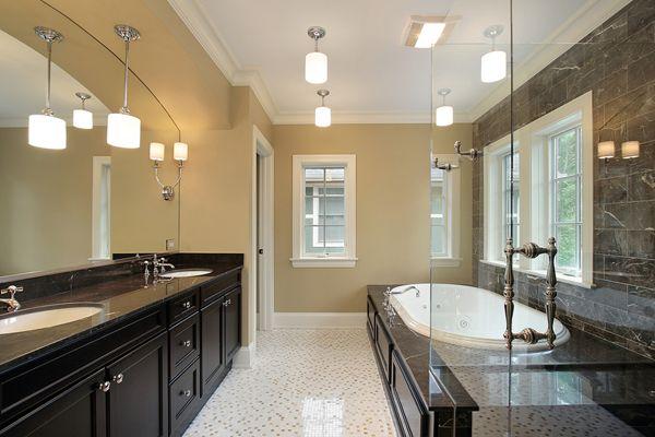 Мойдодыр ванную комнату МДФ черная эмаль
