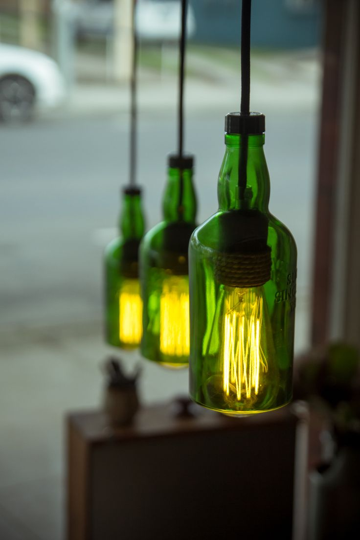 Suntory Whiskey Pendant Lamp [Green] from Twice Drunk. Available to buy now at www.TwiceDrunk.com.