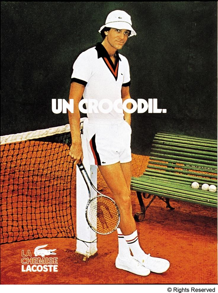 """Un """"Coccodrillo"""", da una delle prime campagne pubblicitarie #Lacoste #Crocodile"""