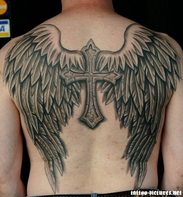 images of angel wings tattoo - Google Search