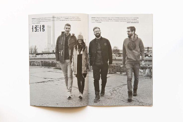 SPORT MÜNZINGER / Imagekampagne Nine to Five / #Fans #United #Sportswear / by Zeichen & Wunder, München