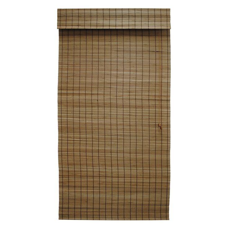 Indoor Blind Bamboo Roman Tahiti Teak 150x210cm 013477 Windoware Sku 00112761 Bunnings Warehouse Indoor Blinds Bamboo Roman Blind Roman Blinds