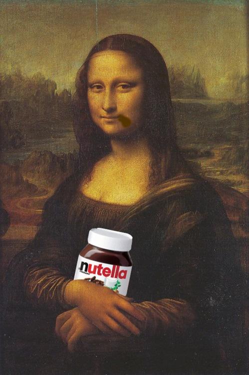 Mona Lisa likes Nutella