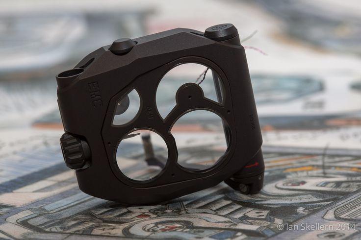 The black titanium case case of Urwerk's EMC Black