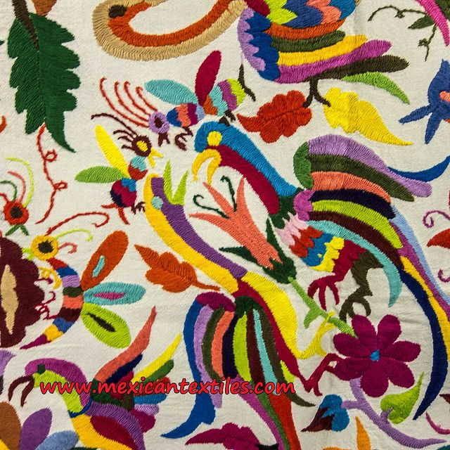 Tenango - traditional Mexican embroidery patterns