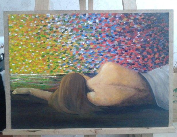 dream- rüya / yağlı boya- oil painting