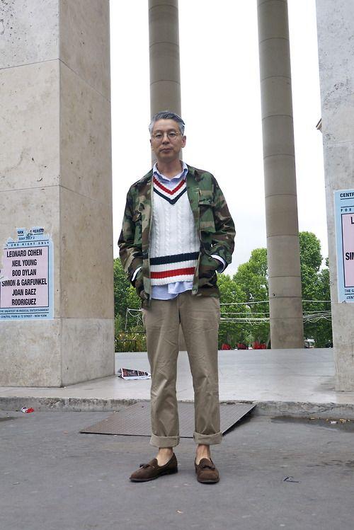 neoretrostreetstyle:  Takahiro Kinoshita style, Paris! Combo...