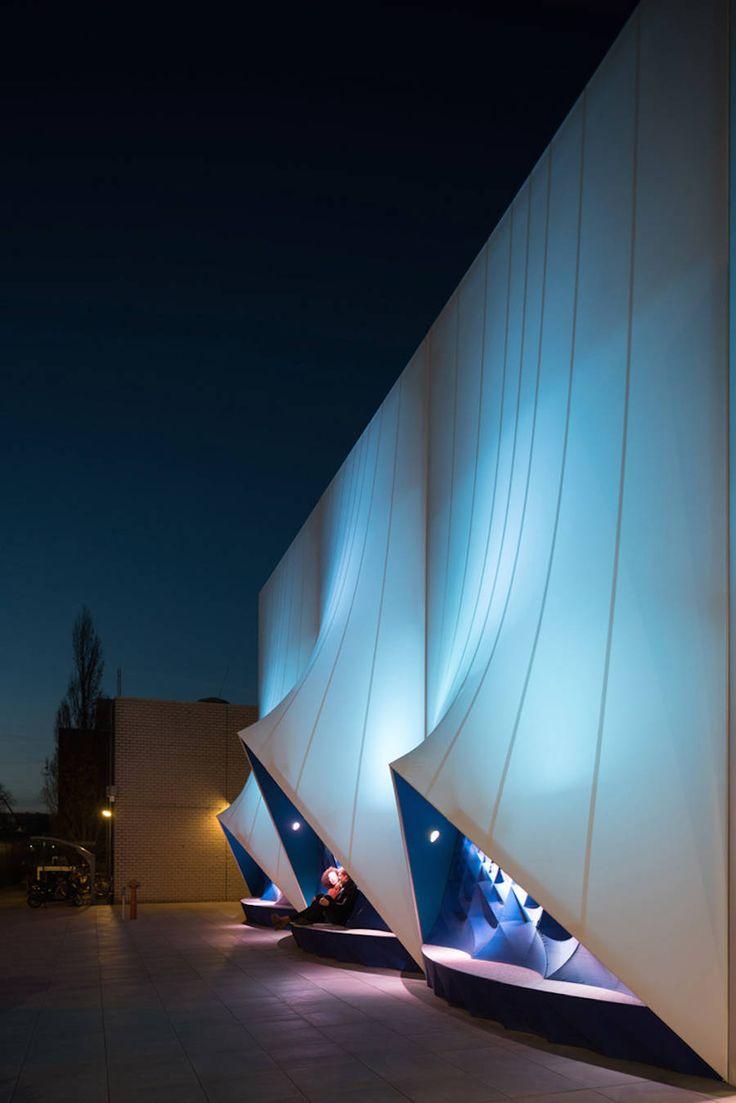 3D-Printed Facade for the EU Presidency 2016 Building