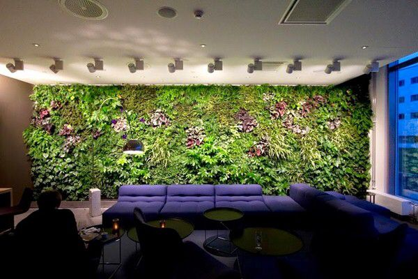 The 319 best Vertical Gardens images on Pinterest | Green walls ...