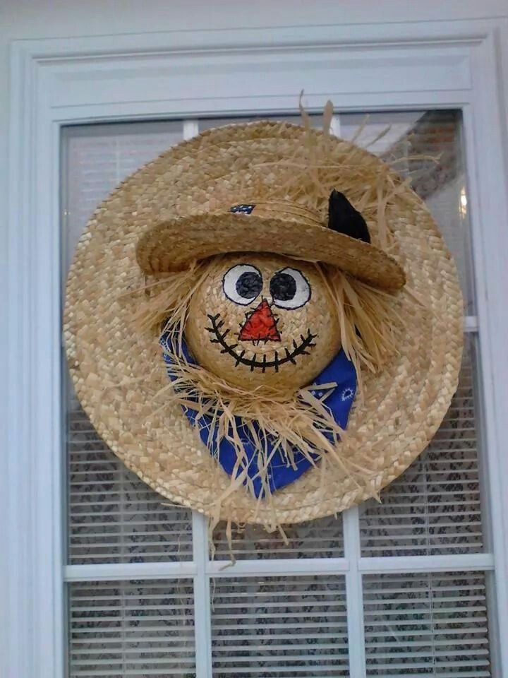 Scarecrow /straw hats