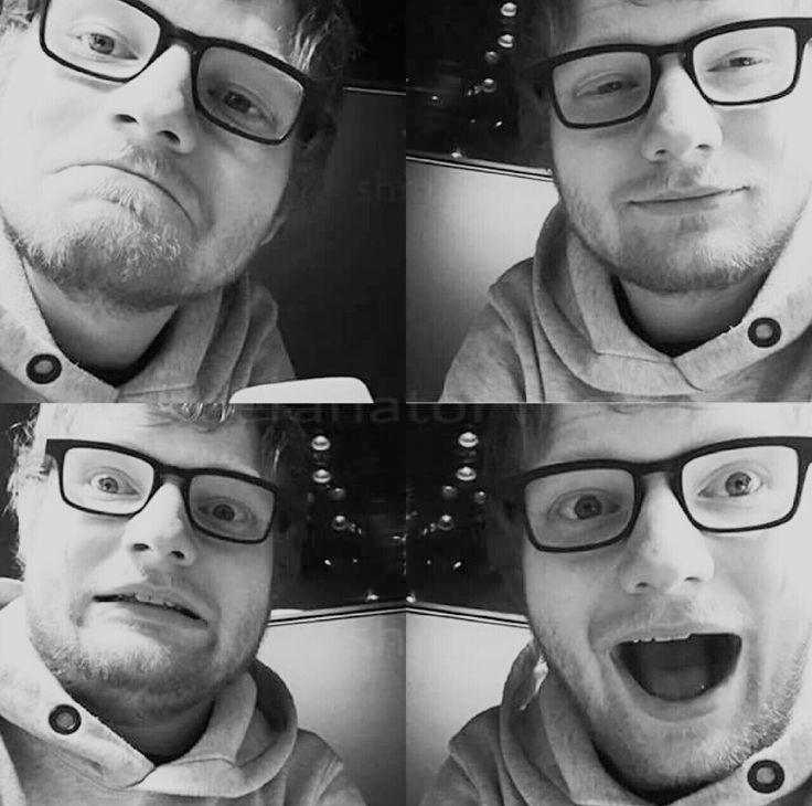 Many faces of Ed Sheeran