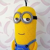 Ravelry: KEVIN Minions pattern by Judit Guillen