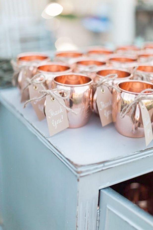 DIY Wedding Favors DIY Copper Mug
