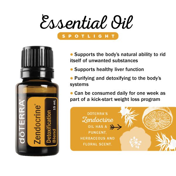 Zendocrine essential oil blend spotlight #doterra #essentialoils #cleanse