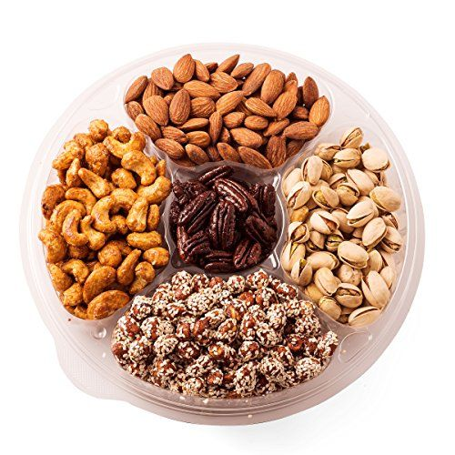 Freshly Roasted Nuts Gift Basket 5 Sectional Tray ** Locate the offer simply by clicking the VISIT button