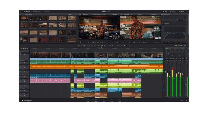 Revolutionary new tools for editing, color correction and professional audio post production has been designed to enable a historic leap forward in post production workflows!