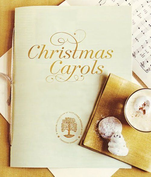 Join us in singing a favorite Christmas carol. I WISH MORE PEOPLE WOULD SPONTANEOUSLY DO THIS!