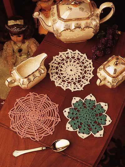 Crochet Doilies - Vintage Doily Crochet Patterns - Trinket Doilies -  free-crochet.com