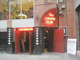 Cavern Club, Liverpool.  This is an exact replica of the Cavern Club, right down to the autographs behind the stage. The original Cavern Club was torn down for a subway.  Above the old Cavern Club, there is a very small parking lot. mj