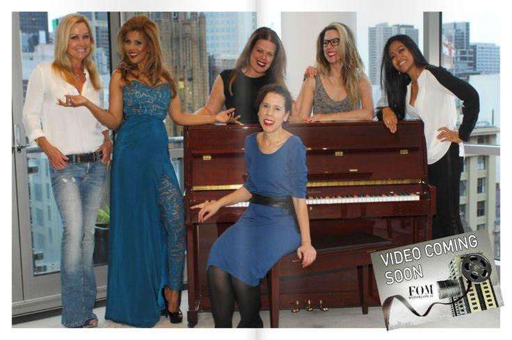 FOM Issue 7 Feature, 'Mentors, Makers & the Magic' Team Pic - Blog | Leiela