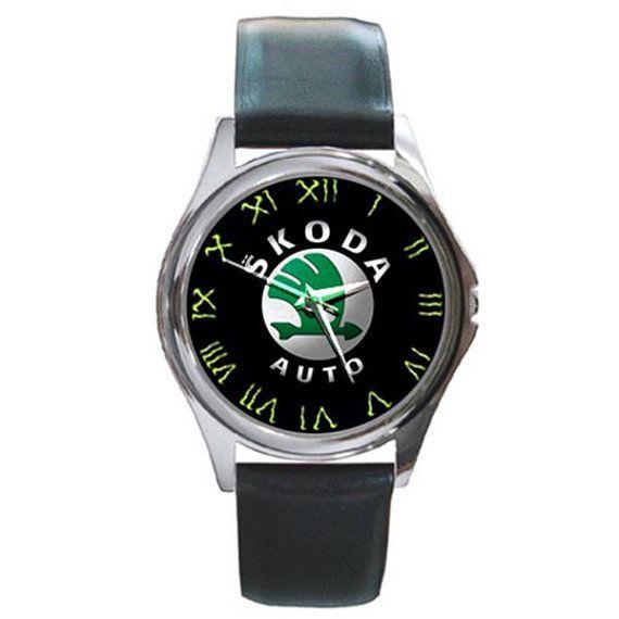 Rare Skoda octavia Logo Car Round Watches by ributributbro on Etsy