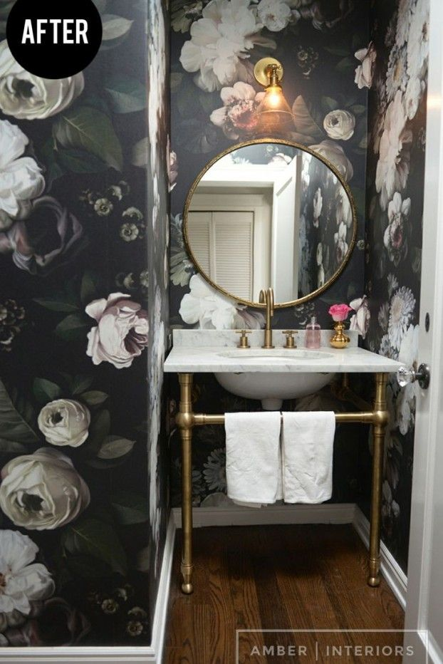 bold wallpaper you can use colors and textures of wallpaper to instantly transform your bathroom