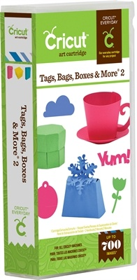 Cricut® Tags, Bags, Boxes & More® 2 cartridge - Cricut Shop