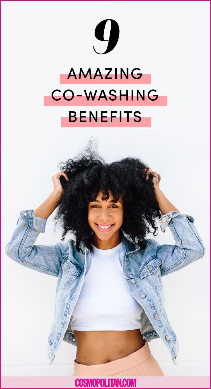 9 Life-Changing Things That Happened When I Started Co-Washing My Hair  - Cosmopolitan.com