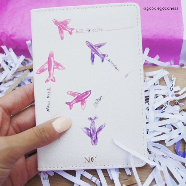 Lentokoneet Passport Holder - Nunuco Design Company
