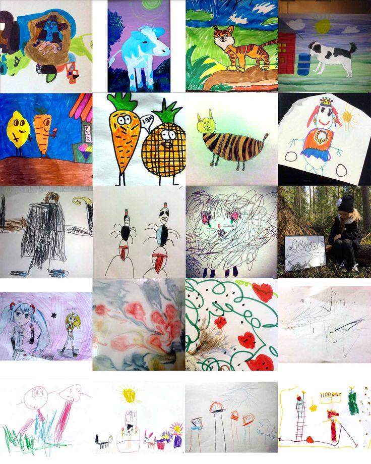 Tässä ovat taiteilijamme, jotka saavat toilettilaukkuun oman teoksensa. Kiitos ihanista kuvista ja onnea! <3 Voittajiin on nyt otettu yhteyttä. Sitten vaan suunnittelemaan kuvatuotteelle kuosia www.munteos.fi ja seuraavaan palkintoa tavoittelemaan. Taitoa teillä ainakin riittää! :D #taidelaukku #piiristus #VAU #voittaja #kuvaverkko