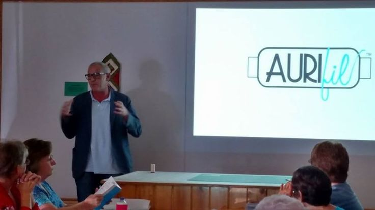 Yesterday #Aurifil lecture at Country Living Quilts (Marquez, TX)