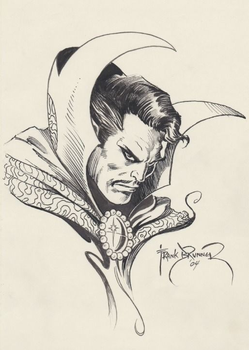 Doctor Strange by Frank Brunner