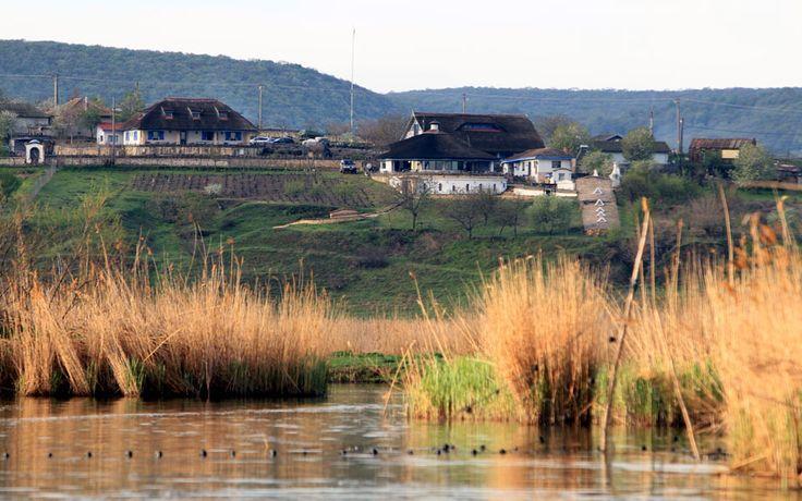 Traditional village in Danube Delta