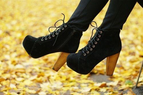 Image via We Heart It https://weheartit.com/entry/41828049 #autumn #balck #black #blackboots #blackheels #blackpants #blackshoes #blog #blogger #booties #boots #fashion #girl #heels #highheel #jeffreycampbell #laces #leggins #lita #outfit #pants #photo #photography #platform #shoes #style #cltohes #blacklaces #litas #blacklitas