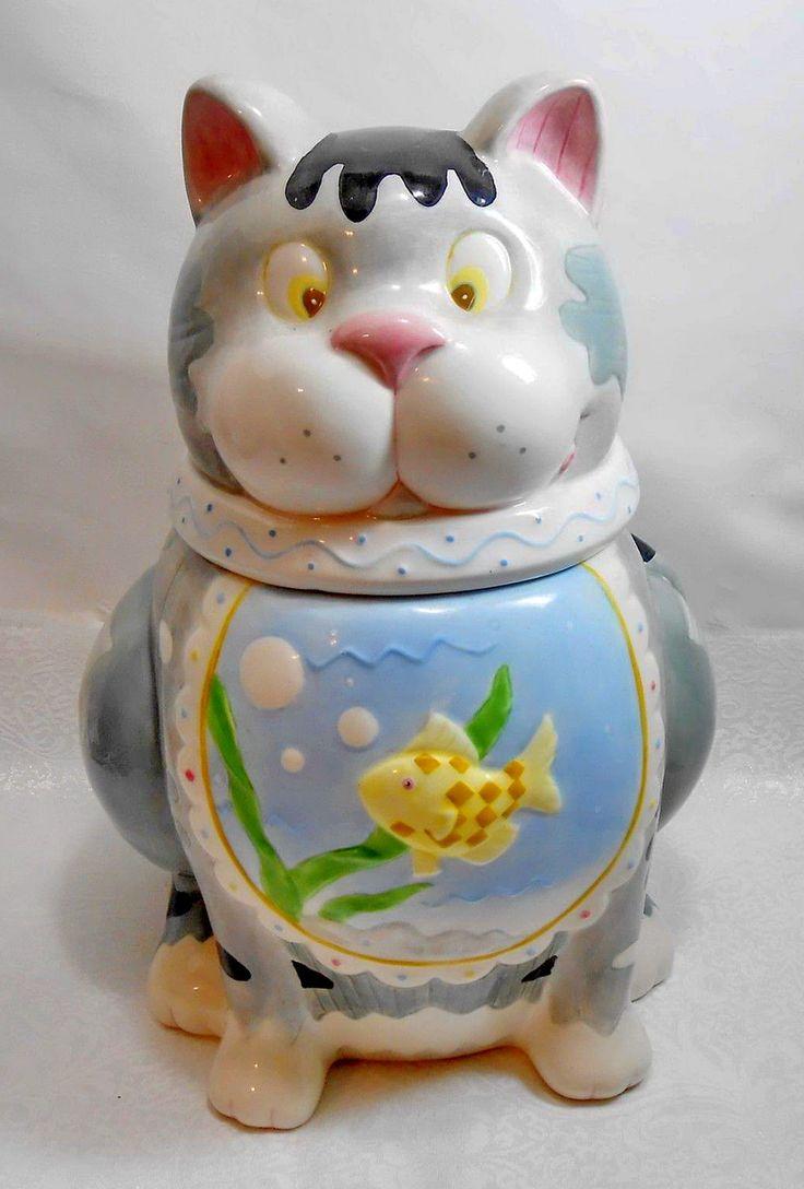 Best Best 439 Kitty Cat Cookie Jars ideas on Pinterest | Cats, Cookie  QL47