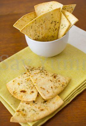 Sfoglie di pane aromatizzato-Idea aperitivo
