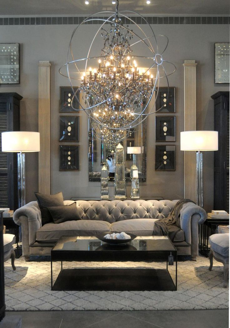 pinterest home decor living room%0A Look inside Restoration Hardware u    s new RH Atlanta design gallery   SLIDESHOW   Living Room Decor