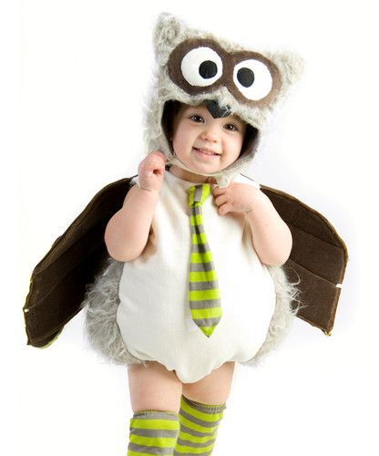 Baby Boys Owl Outfit Cute Infant Toddler Halloween Costume | eBay