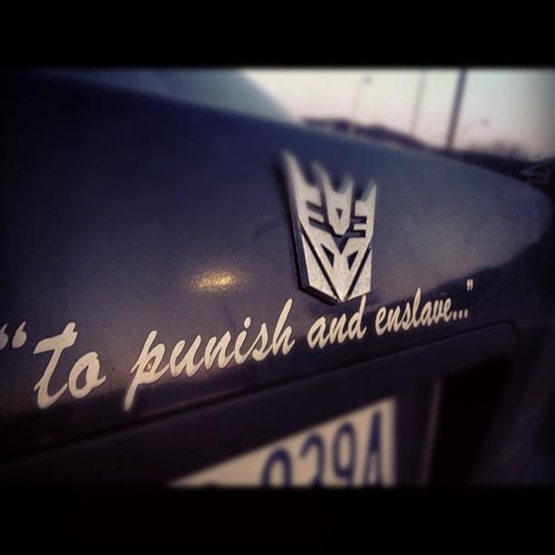 Decepticons To Punish And Enslave I M A Big F N Geek