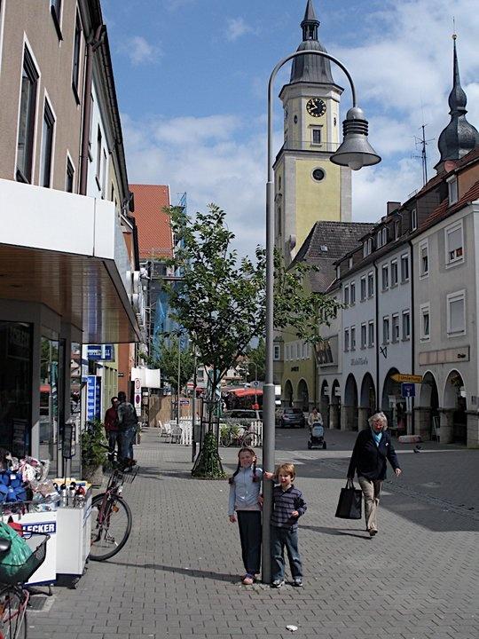 Town near  the late McKee Barracks..Crailshiem Germany