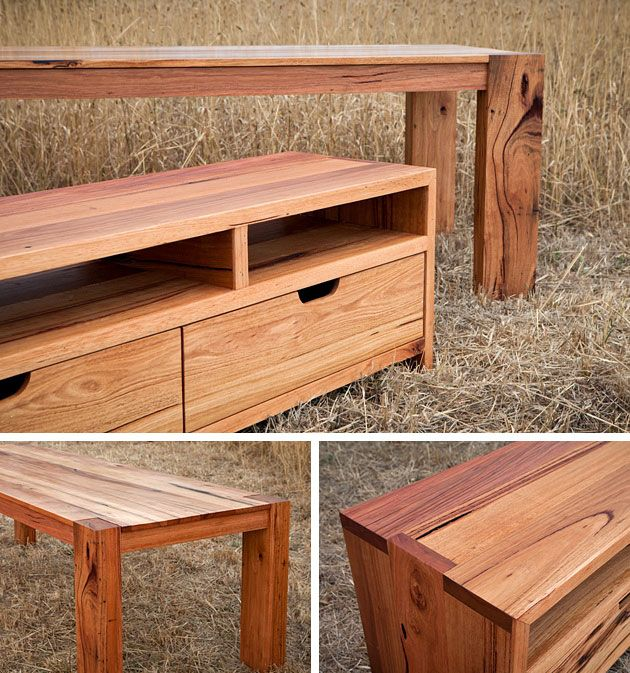 Recycled timber furniture, Bombora custom designs, Torquay, Victoria