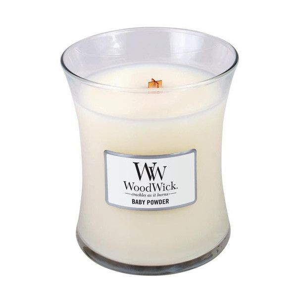 WoodWick Baby Powder Scented Candle – Just Scented Candles