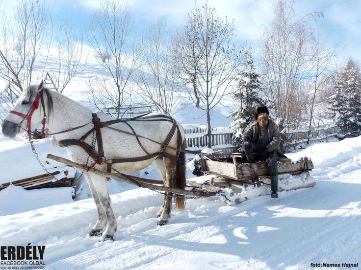 Erdély, winter